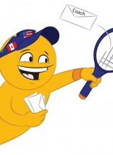 International College Tennis Player