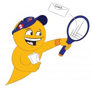 International College Tennis Player